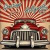 Touristic Red Car Theme Retro Vintage Hollywood Photo Backdrop Vinyl Cloth High Quality Computer Print Wall