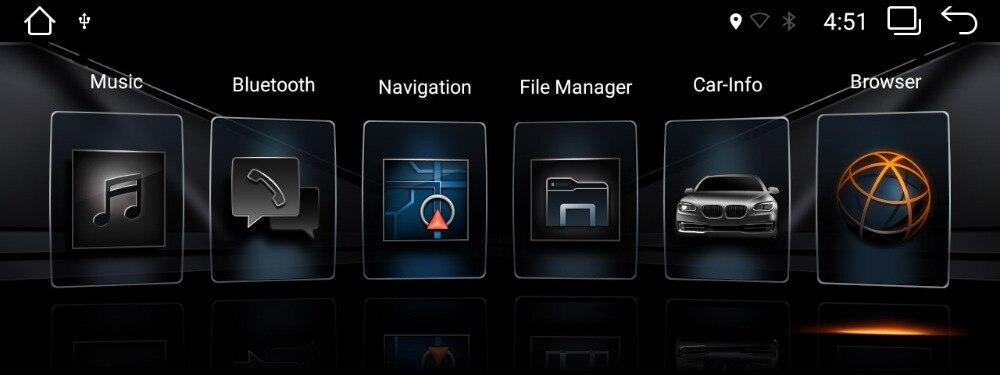 BMW EVO UI on android head unit 1