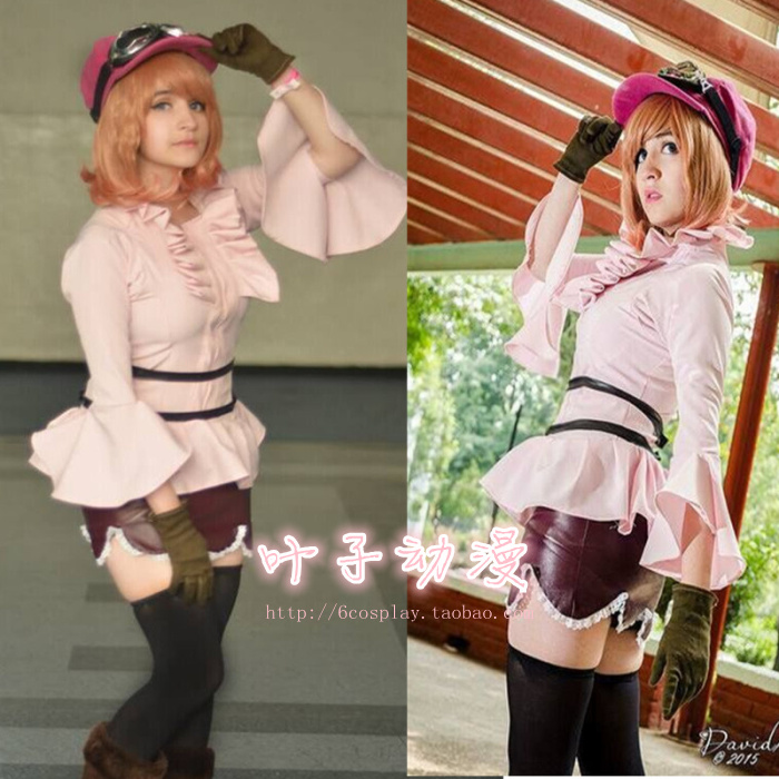 One piece Koala Dress Cosplay Costume All Sizes With Goggles Custom Made COSYT