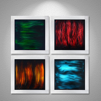 2015 New Metal Painting Modern Classic Wall Art Oil Painting Sculpture Wedding Decoration Wall Pictures For