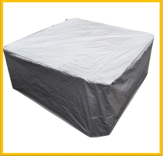 Sac de couverture de spa de bain à remous 231 cm x 231 cm x 90 cm