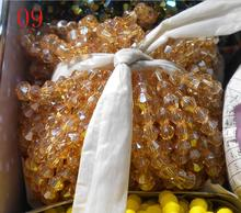 FLTMRH     Sale Golden Color 6mm 48PCS Bicone Austria Crystal Beads charm Glass Beads Loose Spacer Bead for DIY Jewelry Making