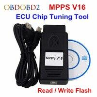 SIPM V16 ECU Programmeur Lire Écrire Flash OBDII OBD2 Auto ECU Chip Tuning Pour Les Voitures Multi-marques Recalcul de contrôle