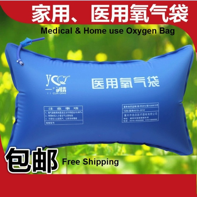 Free Shipping 42L portable oxygen pillow bag medical transport bag home absorb bag for oxygen generator infared medical instrument portable oxygen for home use medical device oems in china