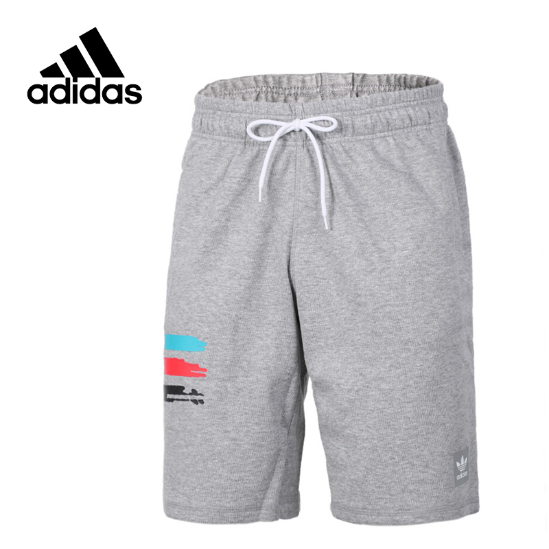 Original New Arrival Official Adidas Originals Men's Solid Shorts Sportswear BK6764 original new arrival official adidas climachill sh men s black shorts sportswear