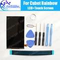 Cubot Rainbow Pantalla LCD 100% Original Nuevo Probado Pantalla LCD de Repuesto de Alta Calidad Para Cubot Rainbow + herramientas + adhesivo
