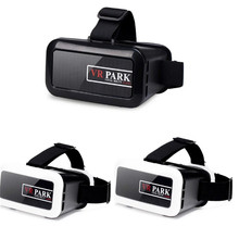 VR PARK 2 3D VR Folding Mini Virtual Reality Glasses for 4.5-5.5 inches screen iPhone 6S plus 7 Plus 6S Samung Huawei Wholesale
