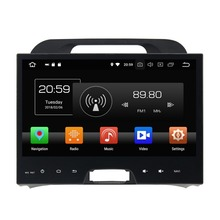 10.1″ 4GB RAM Android 8.0 Car Radio GPS Multimedia Head Unit for Kia Sportage 2010 2011 2012 Bluetooth WIFI USB DVR Mirror-link