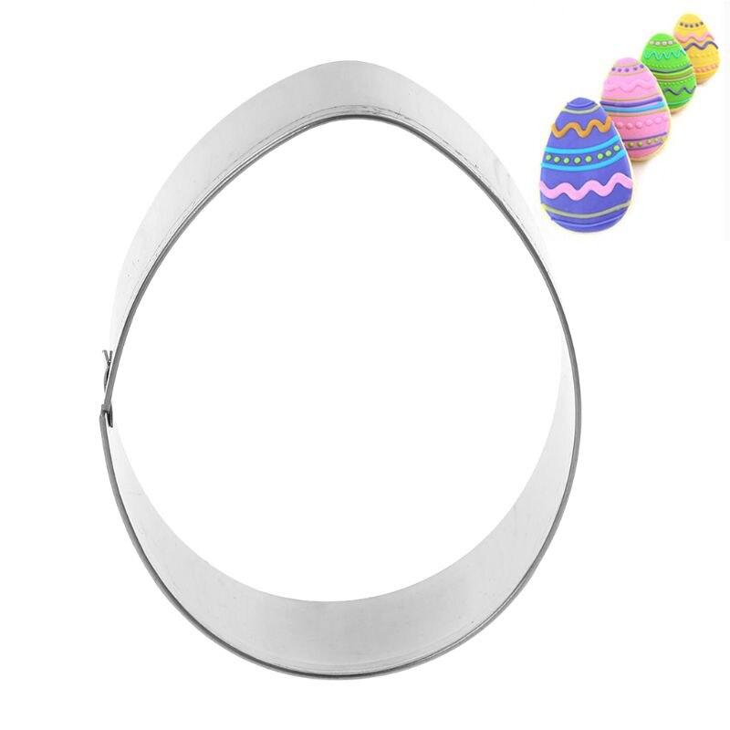 Форма пасхального яйца из нержавеющей стали, форма для печенья, форма для шоколада выпечки помадка, кондитерские изделия, форма для печенья, поделки своими руками