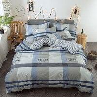 100% Cotton Unicorn Bedding Set Childish Elephant Eyelash Print King Queen Size Linens Duvet Cover Pillowcases Brief Bed Covers