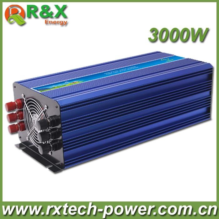 цена на Hot Sell. High Efficiency 3000W DC12V/24V/48V Pure Sine Wave Inverter, Solar Power Inverter