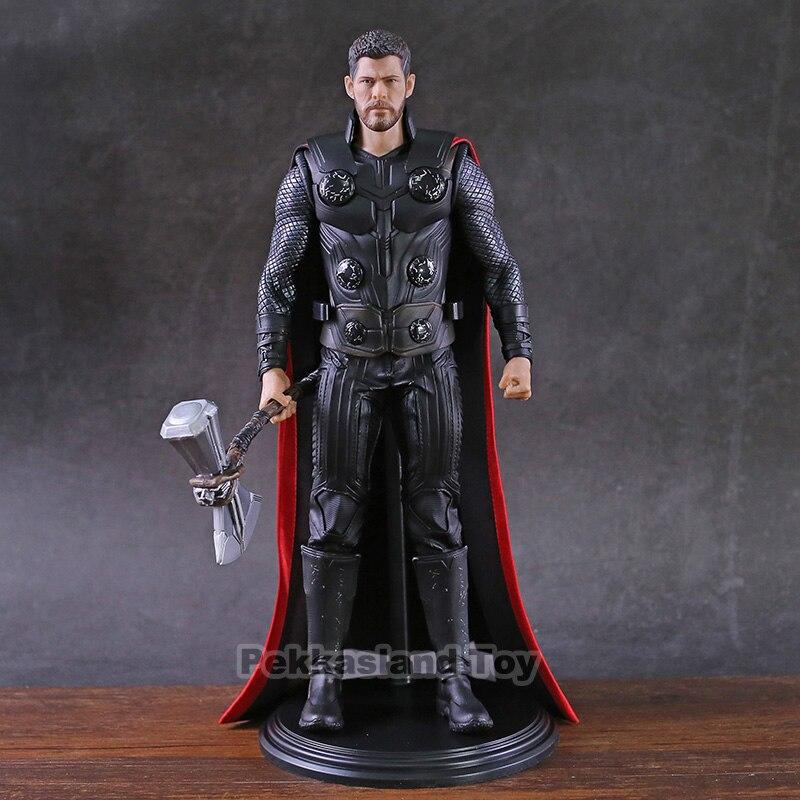 Marvel Thor Captian America Iron Man Figure Action 1/6th échelle brise-tempête Ver. Modèle de Collection Avengers en PVC