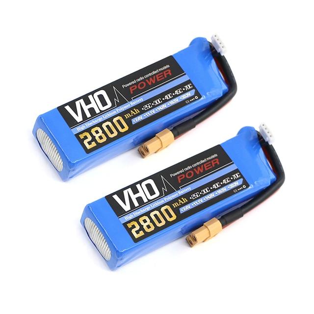VHO Power 3S 2PCS 11.1v 2800MAH Lipo Battery For Cheerson CX-20 cx20  remote control aircraft 11.1 v 2800 MAH 30c toy Batteries