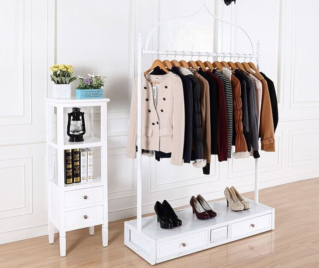 Iron Clothing Rack Clothing Store Display Rack Clothes