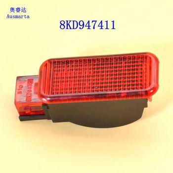 1 Uds Paquete de correo rojo puerta Panel luz de advertencia para Octavia A3 S3 A4 A5 A6 A7 A8 Q3 Q5 TT 8KD 947 411 8KD-947-411 8KD947411