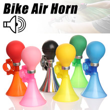 1Pcs Bike Air Horn Safety Road Bicycle Children Bike Handlebar Bell Ring Bicycle Bell Loud Bike Bells Bicycle Accessories(China)