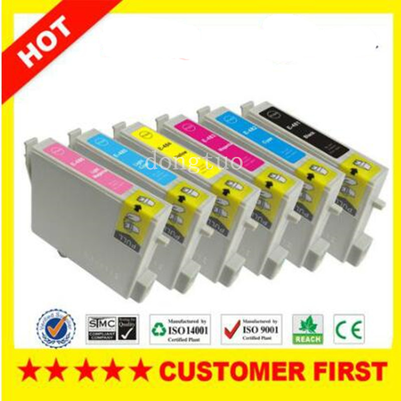 6 Ink Cartridges Replace for T R200 R220 R300 R300M R320 300 500 600 630 image