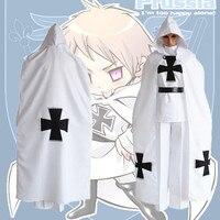 Anime Hetalia Axis Powers Cosplay Costume Gilbert Beillschmidt military uniform Cosplay Costume Halloween Carnival Party Prussia