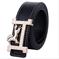 New classic style horse pattern gold buckle waistbands for men and women fashion candy colors female belts free shipping SY099
