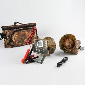 Image 3 - 2pcs 60W การล่าสัตว์ Decoy เป็ด Bird Caller เสียงดักล่าสัตว์อุปกรณ์ Electronics mp3 นกผู้เล่นกันน้ำ
