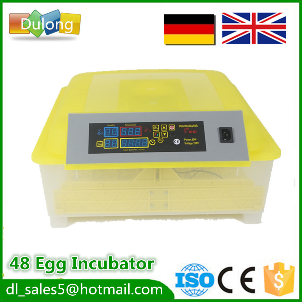 Newest Best Farm quail brooder Machine 48 Egg Hatchers Cheap Price  Automatic Chicken egg Incubator China for Sale best price 5pin cable for outdoor printer