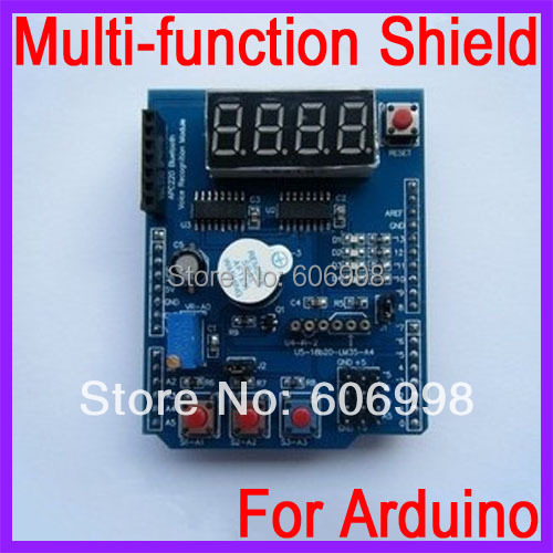 Multi function font b Shield b font For font b Arduino b font Based Learning kit
