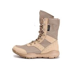 Marca Pesca Waders hombres caminando deporte Mujeres arena Tactical botas transpirable StabResistente defensa militar senderismo Zapatos altos
