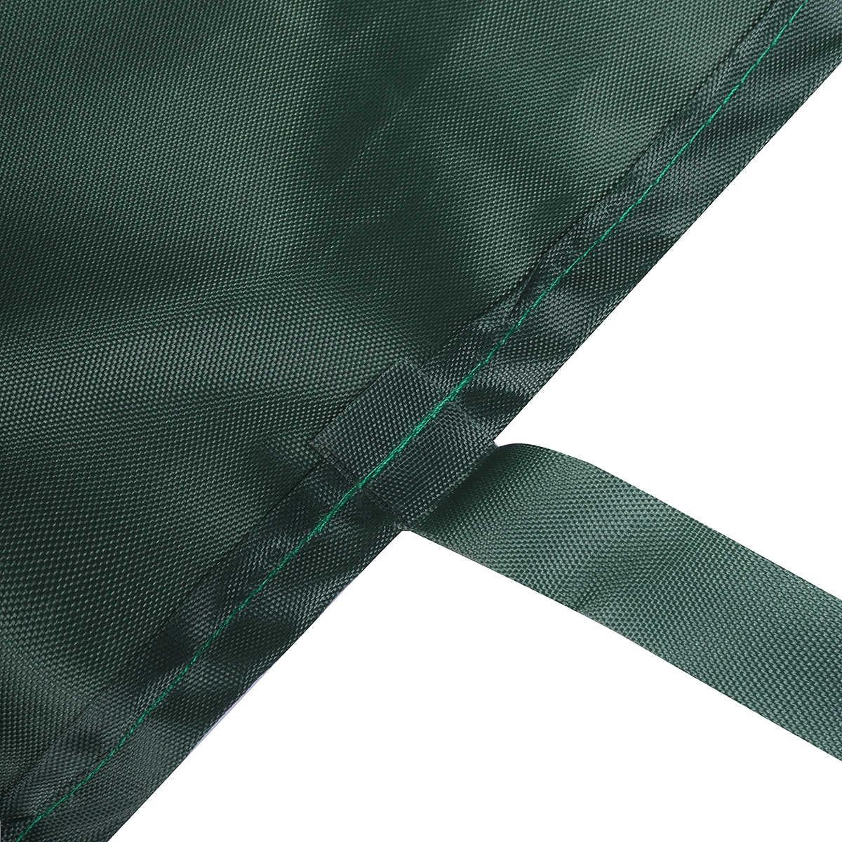 Зеленый 5 размеров патио тент сумка для хранения зимние чулки с мотивом дождливой погоды, Cover Protector солнцезащитный навес, тент Водонепроницаемый Защита от солнца