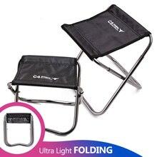 Camping chaise de pêche enfants Mini C4 pliant Kamp Sandalyesi pliable extérieur Sillas de playa tabouret Portable Silla banc de plage