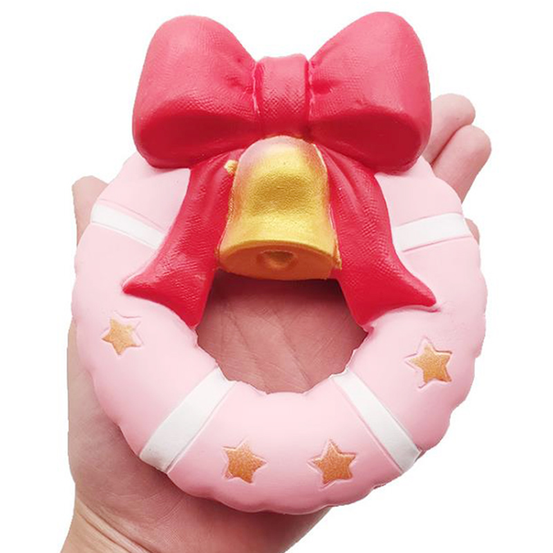 Jumbo Christmas Donut Squishies Slow Rising Creative Soft Sweet Scented Simulation Stress Relief Fun Kid Baby Gift Toy12*13CM
