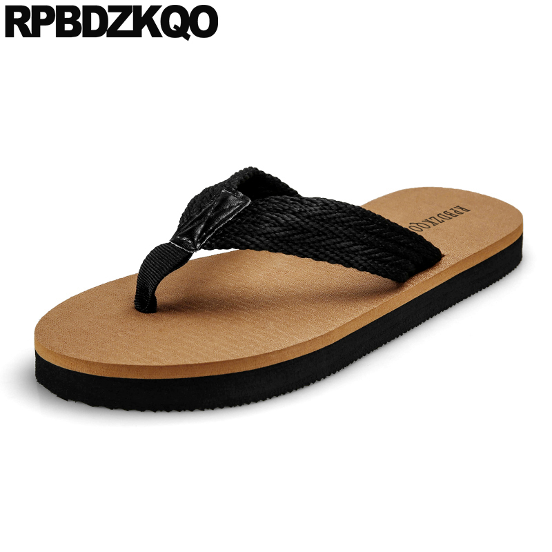 Open Toe Large Size Strap Runway Slip On Beach Native 45 Mens Sandals 2019 Summer Outdoor Slippers Slides Shoes Flip Flop Nice
