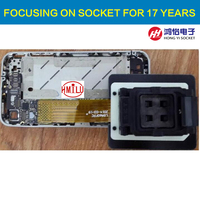 LGA60 FPC flexible wire mobile phone repair socket iphone ipad Nand Flash memory IC chip HDD disk test refresh IOS