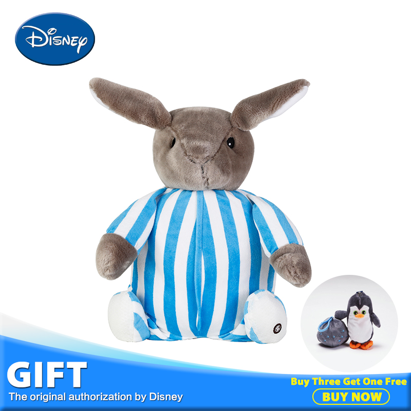 Disney Robb Rabbit Plush Toys Stuffed Doll kawaii Animals Pillow Cushion Kids Rest Sleeping Blanket Toy Brinquedos Birthday Gift 2016 toy baralho mr fuzzy magica worm trick twisty plush wiggle stuffed animals street toy for kids gift 21cm