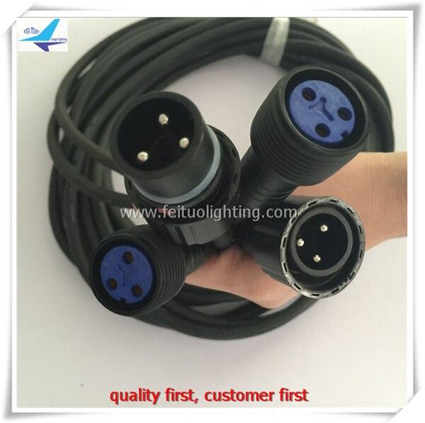 A-30/лот 3 метра IP65 Мощность кабель-удлинитель для Водонепроницаемый Шайба стены/par свет