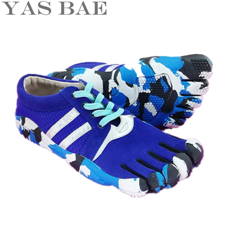 Yas Bae 2017 Sale Design Rubber with Five Fingers Outdoor Slip Resistant Breathable Light Weight Sneakers Climbing For Women