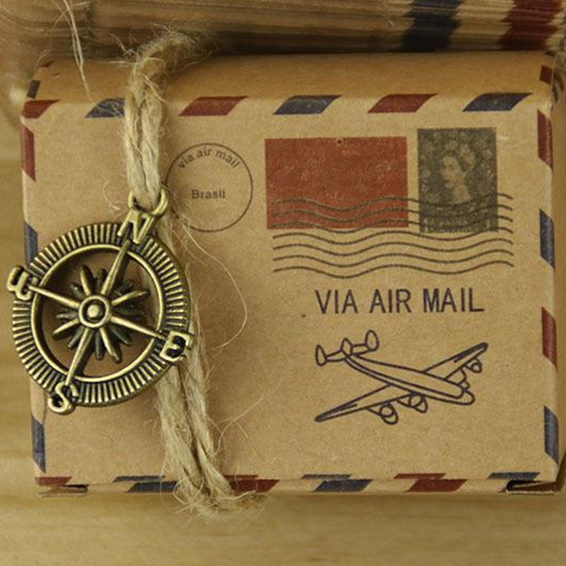 6*4.5*3.5 cm VIA AIR mail box item craft paper party candy boxes for bridal shower 200pcs Party Wedding Decoration Candy Box