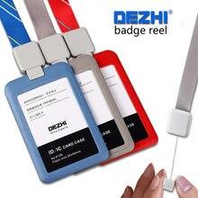 Ремешок dezhi retractabl с пряжкой и простыми пластиковыми держателями