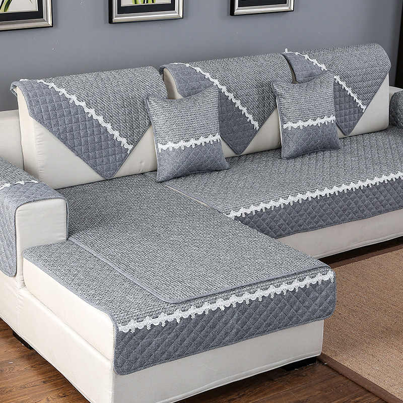 Sofa Cover Towel Cushion Cotton