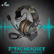 Buy Comtac I active noise reduction Headset Airsoft Military Shooting Headphones Z054 directly from merchant!