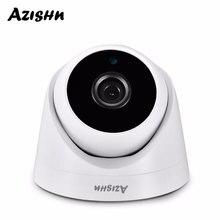 AZISHN الأمن 3MP 1080P 960P 720P داخلي IP كاميرا المنزل CCTV ONVIF كشف الحركة RTSP 2.8 مللي متر عدسة قبة كام POE
