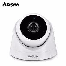 Azishn 보안 3mp 1080 p 960 p 720 p 실내 ip 카메라 홈 cctv onvif 모션 감지 rtsp 2.8mm 렌즈 돔 캠 poe