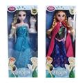 Горячая распродажа подарок девочек игрушки, Мода лихорадка куклы принцесса анна и эльза кукла снежная королева с олафом Boneca Brinquedo