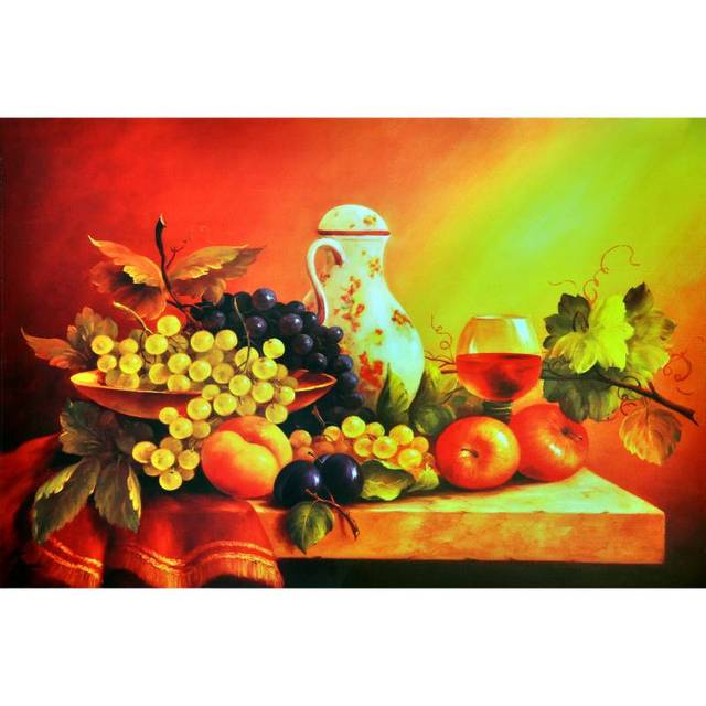 New Printed Spray Painting Wall Pictures For Kitchen Canvas Art Fruits  Modern Living Room Dining Hall