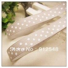 Ann Fashion Accessories free shipping 3/8″ 9mm dot Printed Ribbon grosgrain ribbon,Garment accessories,yd9006