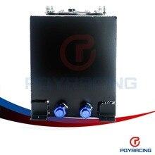 PQY STORE-BLACK 10L Aluminium Fuel Surge tank Fuel cell  w/o sensor foam inside PQY-TK13BK