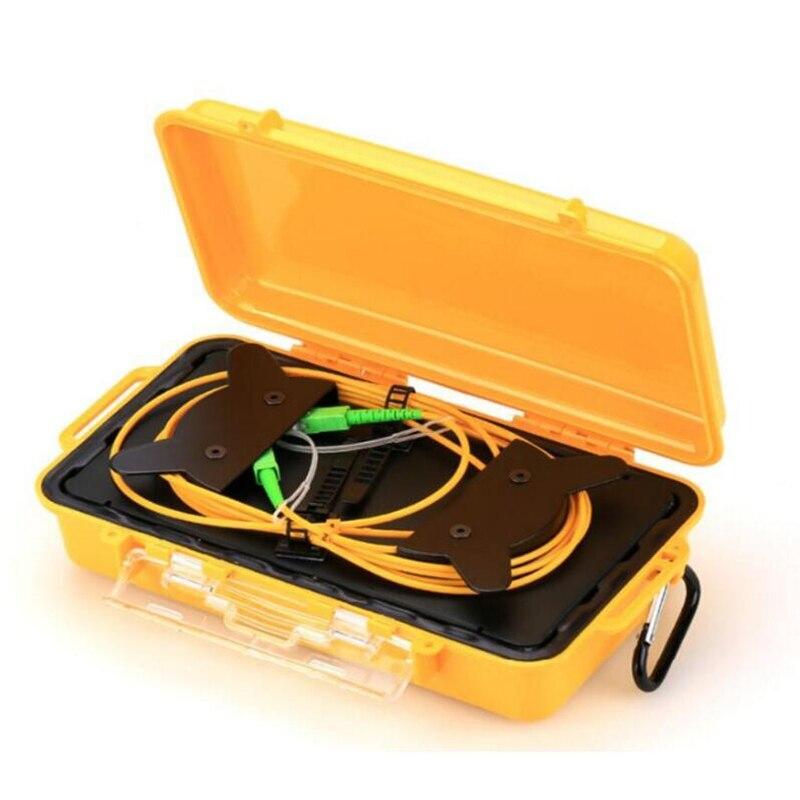 SC APC Single Mode 9/125um 1310/1550nm 1KM OTDR launch cable box, Fiber ring otdr launch cable,Fiber optic launch cable
