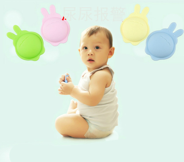 Newest arrival healthy safe baby wet reminder high quality intelligent baby bed wetting alarm  free shipping