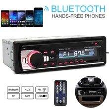 JSD-520 12 В автомобиля Радио Bluetooth Remote Управление MP3 аудио плеер Поддержка FM Aux Вход приемник SD USB MP3