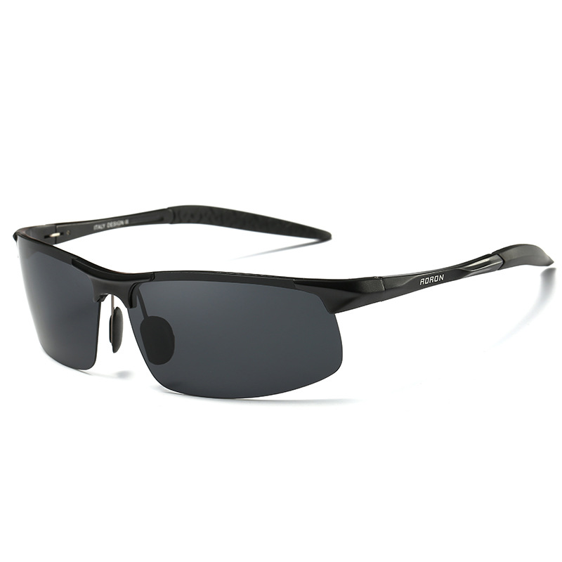 9dd0884a64 2018 New Aluminum Magnesium Polarized Sport Sunglasses For Biker Driver  Cool Tactical Shooting Glasses For Men Women 8177-in Sunglasses from  Apparel ...