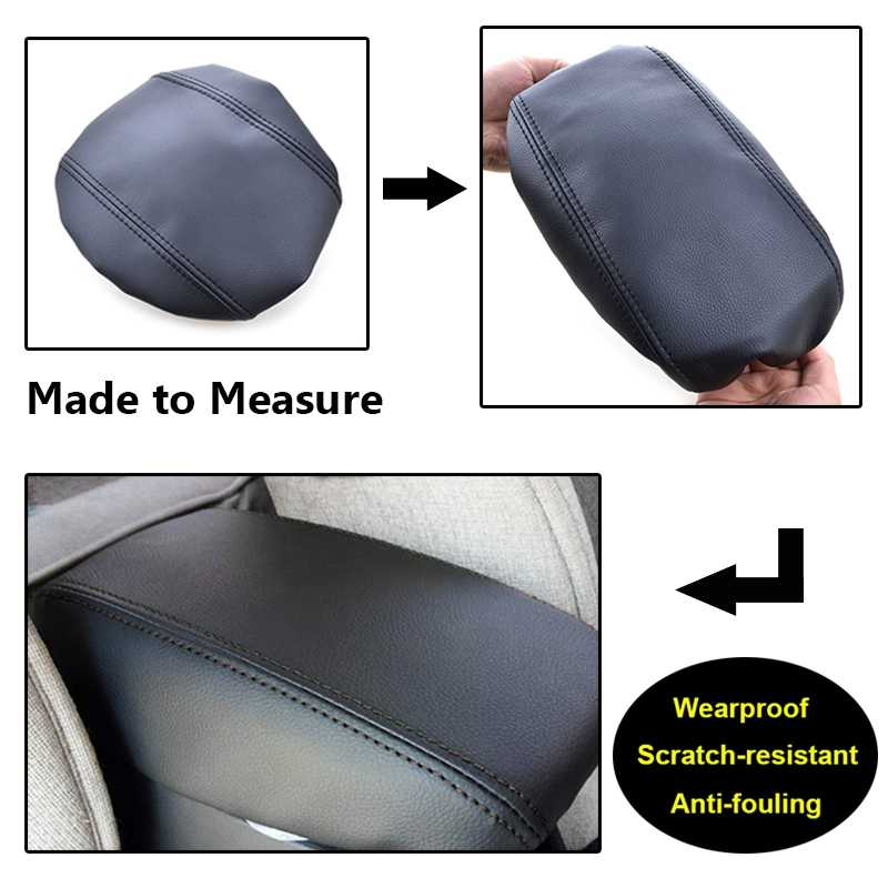Car Center Console Armrest Cover Leather Case for Hyundai Creta Ix25 2015 2016 2017 2018 2019